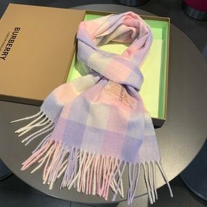 Pink Square scarf